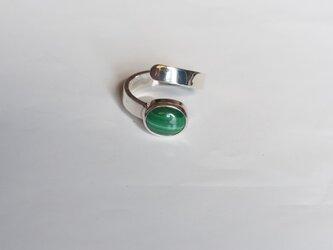 マラカイトのリングの画像