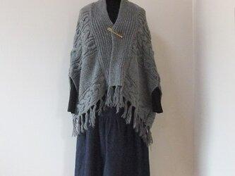 児島デニムのギャザースカート【インディゴ】の画像