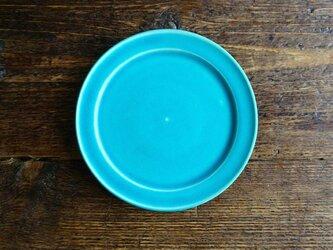 ブルーリム皿の画像