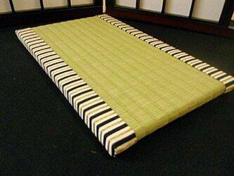 装飾ミニ畳~縞袴 桐生織~の画像