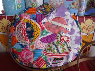2way☆キラキラのスーちゃんと気球のチューリップバック☆の画像