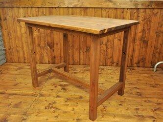 テーブル ブラウン 600X900の画像