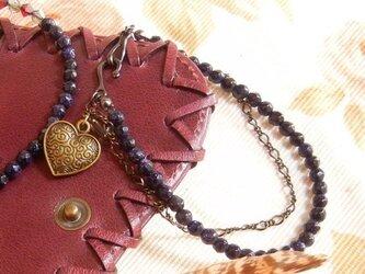 bracelet(My*Heart)ゴールドストーンの画像