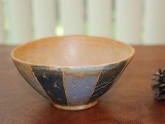 色化粧ご飯茶碗3の画像