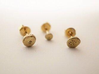 point pierced earrings No.02の画像