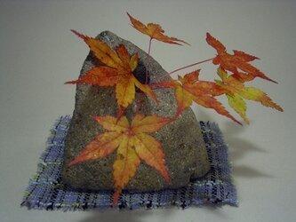 石輪挿し 天然石の花器 K-79の画像