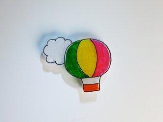 気球ブローチ(気球ワールド)の画像