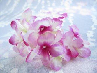 pinkハイドレンジアのUピン飾りの画像