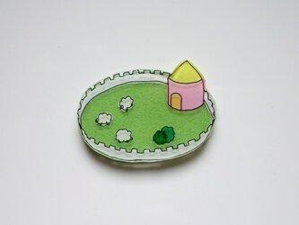 牧場 ブローチ (気球ワールド)の画像
