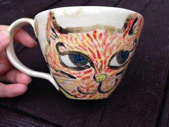 猫マグカップの画像