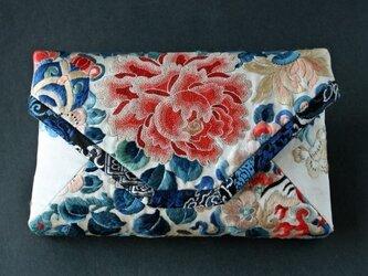 シノワ 刺繍クラッチバッグの画像