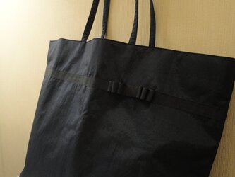 幼稚園・小学生ママにピッタリ!大容量紺色トートバッグの画像