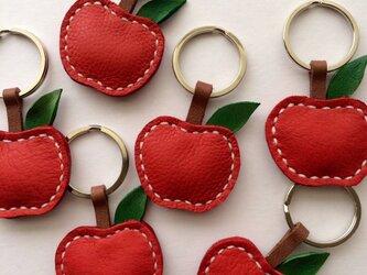 林檎キーリングの画像
