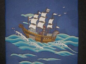 袋帯南蛮船の画像