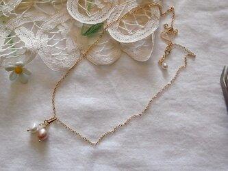 パールのネックレスの画像