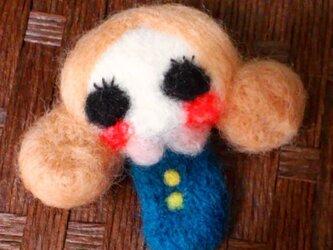 おだんごガール(ブルー)の画像