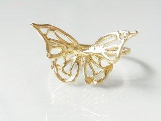 バタフライリング(gold)の画像