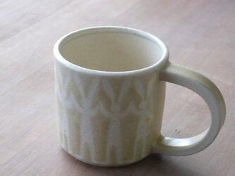 マグカップ 並びうさぎ 黄色の画像