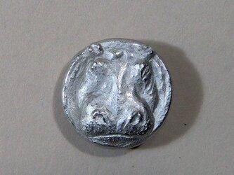 河馬のボタン(大)の画像