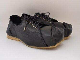【受注製作】SQUARE sneakers(革)の画像