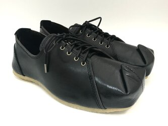 SQUARE sneakers #natural leather #受注製作の画像