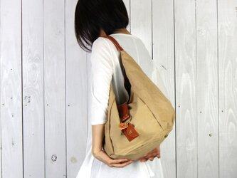 polta-タン(タンニン染め帆布バッグ)の画像