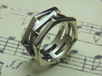 Hexagons Ring L [grocca]の画像