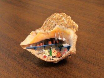 [ちっぺい様ご依頼品]貝がら ミニチュア キッチン(再)の画像