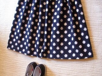セール!みずたまの久留米絣のスカートの画像