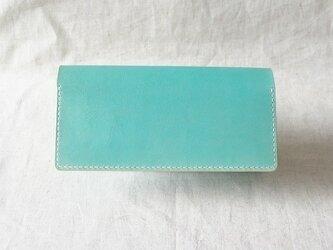 [オーダーご依頼品] 長財布《 Light Blue 》の画像