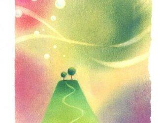 『虹の国』(パステルアート)の画像