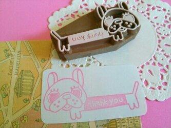 【thank you】はんこ★(犬)の画像
