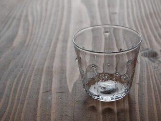 雫のグラス(クリア小)の画像