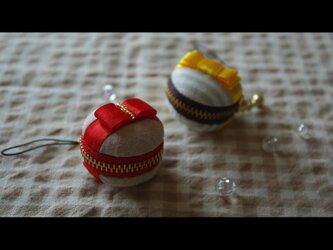 Gift風 マカロンケース/rdの画像