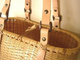 竹トートバッグ 「bamluxe tote」の画像
