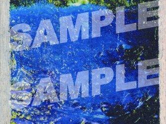 木のポストカード『青のどうくつ』の画像
