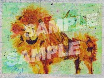 木のポストカード『ちゃうちゃうちゃん』の画像