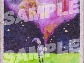 木のポストカード『ふしぎ玉』の画像