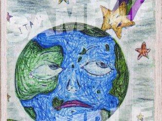 木のポストカード『ケガ』の画像