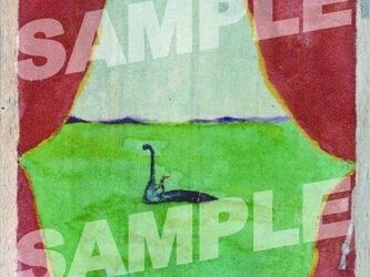 木のポストカード『ふしぎカーテン』の画像