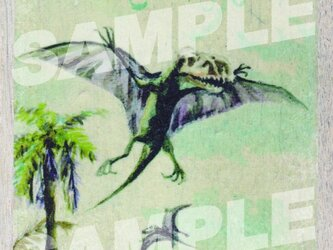 木のポストカード『ディモルフォドン』の画像