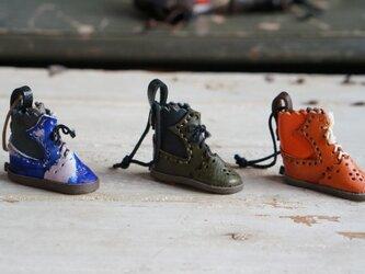 mini靴チャーム:byコビトワークスの画像