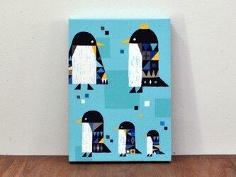 ファブリックパネル「ペンギン」の画像
