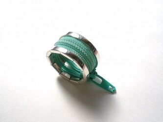 zip ring - peppermint greenの画像