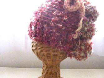 2wayボンボン帽 HBB1336の画像