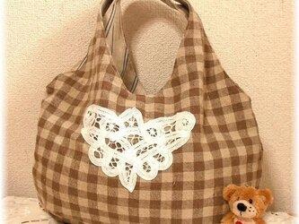 コロンと可愛い まんまるバッグの型紙の画像