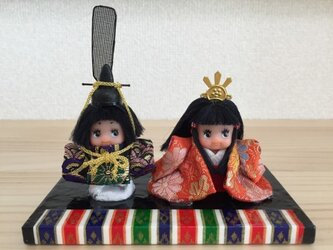 雛人形キューピーの画像