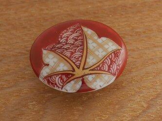 帯留 紅葉の画像