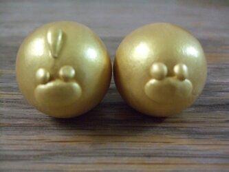 金色のコケ吉&ぴーやんの画像