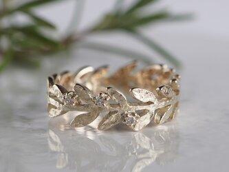 Olive leaf ring [R002K10]の画像